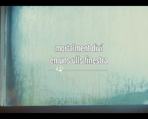 """FOTOGRAMA LYRIC VÍDEO (Vídeolletra) """"MORTALMENT DIVÍ"""""""